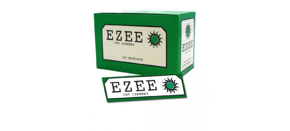 Ezee Green Standard Rolling Papers - 5 / 10 / 20 / 100 Booklets