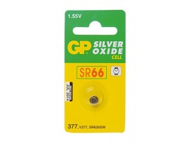 GP 377 SR66 Silver Oxide Button Cell Battery