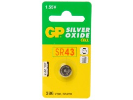 GP 386 (SR43) Silver Oxide Button Cell Battery