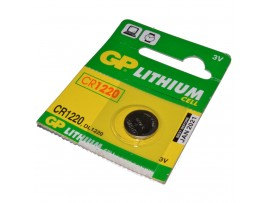 GP CR1220 Lithium 3V Battery