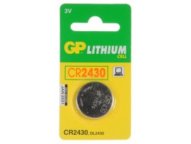 GP CR2430 Lithium 3V Battery
