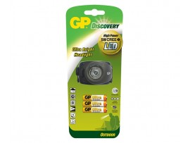GP Discovery Outdoor LED Headlight LOE208 with 3 Ultra Alkaline AAA