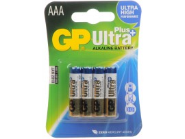 GP AAA Ultra Plus Alkaline Batteries 4 Pack