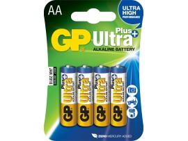 GP AA Ultra Plus Alkaline Batteries - 4 Pack