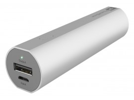GP Batteries 3000mAh Portable Powerbank for Smartphones - Silver
