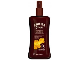 Hawaiian Tropic SPF15 Protective Dry Spray Oil
