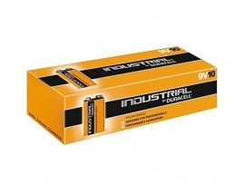 Duracell Industrial 9V Alkaline Batteries - 10 Pack