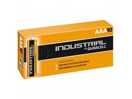 Duracell Industrial AAA Alkaline Batteries - 10 Pack