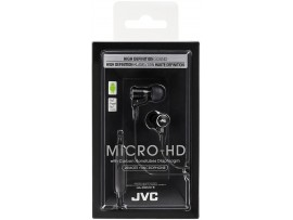 JVC HA-FRD60 MICRO HD Inner Earphones with mic, remote smartswitch -Black / Red / White