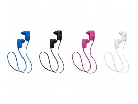 JVC Wireless Bluetooth Gumy Sport headphones with Mic - HA-F250BT