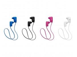 JVC Wireless Bluetooth Gumy Sport headphones with Mic - HA-F250BT