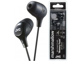JVC HA-FX38 Marshmallow memory foam In-Ear Headphones - Black / White