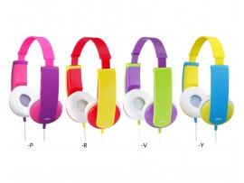 JVC HA-KD5 Tinyphones Kids On-Ear Headphones with Volume Limitter