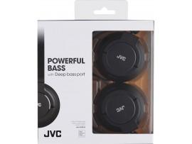 JVC HA-S180  Foldable Lightweight Powerful Bass Over-Ear Headphones - Black / Blue / Red