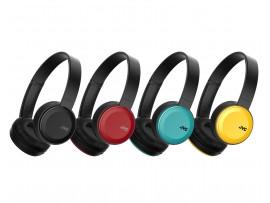 JVC HA-S30BT Foldable Lightweight Bass Boost On-Ear Bluetooth Wireless Headphones - Black / Blue / Red