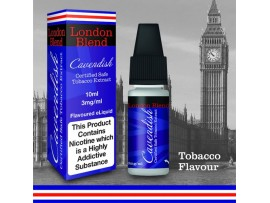 Cavendish Tobacco Flavour E-Liquid 10ml - London Blend - 50VG/50PG
