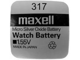 Maxell 317 SR516SW Silver Oxide Watch Battery