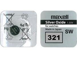 Maxell 321 SR616SW Silver Oxide Watch Battery