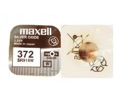 Maxell 372 SR916SW Silver Oxide Watch Battery