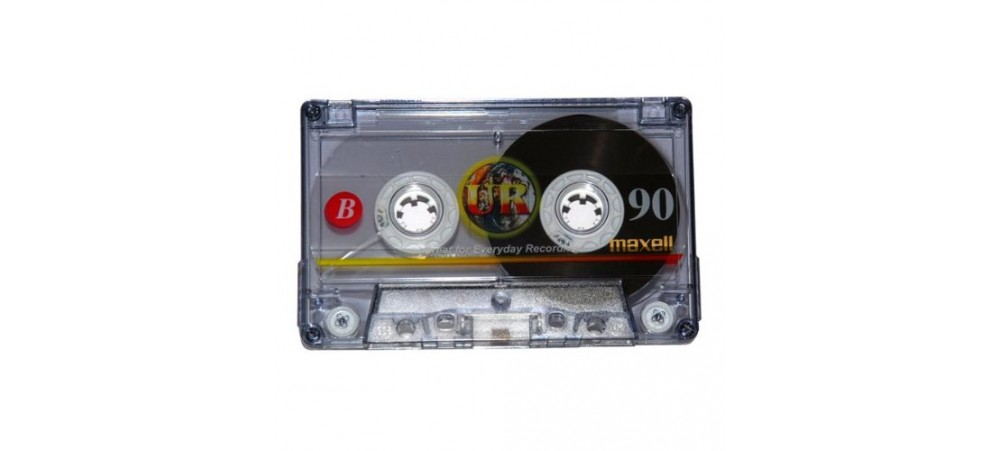 Maxell 90 minutes Blank Audio Cassette Tape UR-90