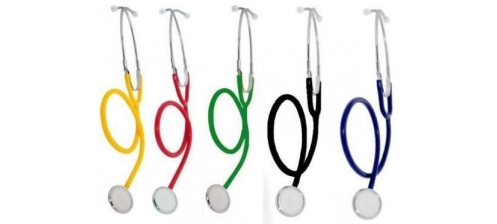 Medi-Inn Single Headed Stethoscope - Available in Various Colours