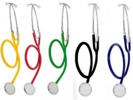 Medi-Inn Single Headed Stethoscope - Available in Various Colours