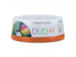 Memorex M00575 DVD-R 16x 25 Pack Spindle