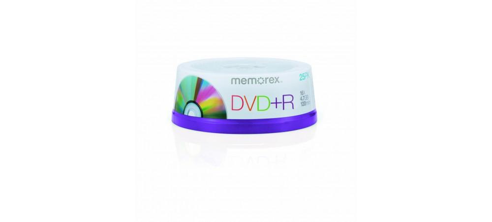 Memorex M00582 DVD+R 16x 25 Pack Spindle