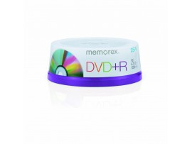 Memorex M00582 DVD+R 16x 25 Pack Spindle