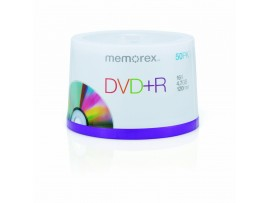 Memorex M00568 DVD+R 16x 50 Pack Spindle
