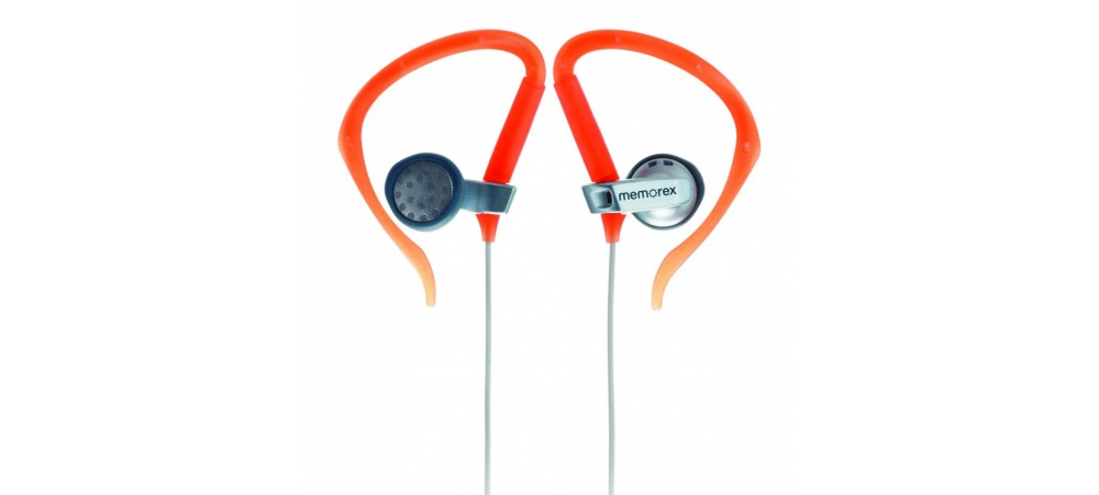 Memorex M10056 EC100 Sport Headphones with volume control