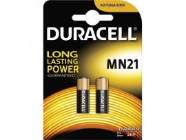 Duracell MN21 / 3LR50 / A23 12V Batteries - 2 Pack