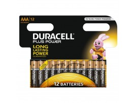 Duracell Plus Power AAA Batteries - 12 Pack