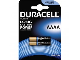 Duracell Ultra E96 / AAAA Batteries - 2 Pack