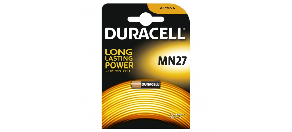 Duracell 27A / MN27 12V Battery - 1 Pack