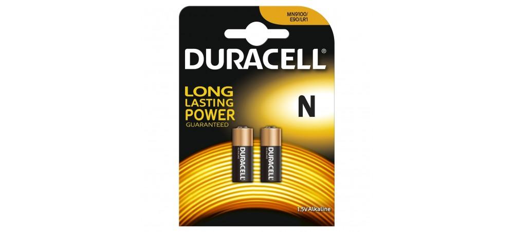 Duracell Mn9100 Lr1 1 5v Pack Of 2 Batteries