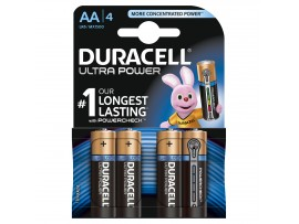 Duracell Ultra Power AA Batteries - 4 Pack