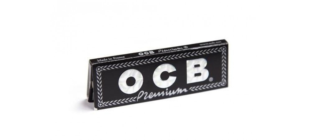 OCB Premium Regular Rolling Paper - 1 / 5 / 10 / 15 /20 / 25 and 50 Booklets