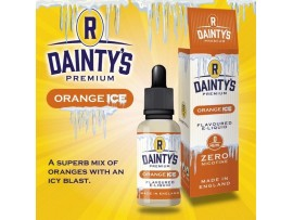 Orange Ice MAX VG E-Liquid - Zero Nicotine - 50ML Short Fill Bottle - R Dainty's Premium