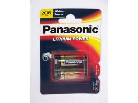 Panasonic 2CR5 6V Photo Lithium Battery - 1 Pack