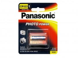 Panasonic CR123 3V Lithium Photo Battery - 1 Pack