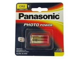 Panasonic CR2 3V Lithium Photo Battery - 1 Pack