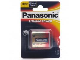 Panasonic CRP2P 6V Photo Lithium Battery - 1 Pack