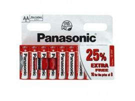 Panasonic AAA Zinc Carbon Batteries - 10 Pack
