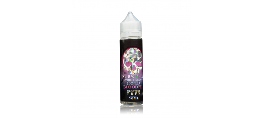 Cold Blooded (Berries with Mint) SUB OHM Max VG E Liquid 50ml Bottle - Pure Evil - Shortfill