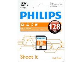 128GB SDXC Class 10 Memory Card - Philips