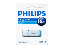 16GB USB 2.0 Snow Edition - Electric Blue - Philips