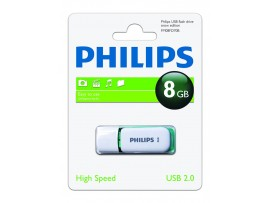 8GB USB 2.0 Snow Edition - Dragon Green - Philips