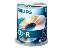 Philips CD-R 80min 700MB 52 speed - 100 Pack Spindle