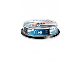 Philips CD-R 80min 700MB 52 speed - 10 Pack Spindle